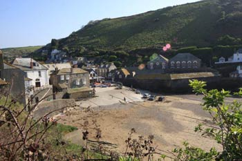 View of Port Isaac Harbour from Fore Street