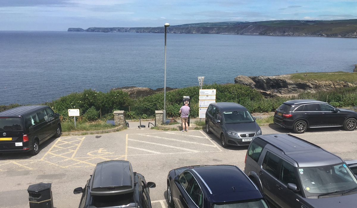 Port Isaac - New Road Car Park